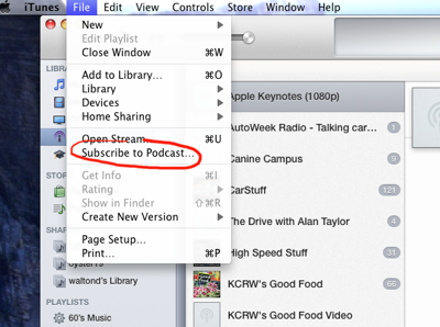 how to download vodcast with url